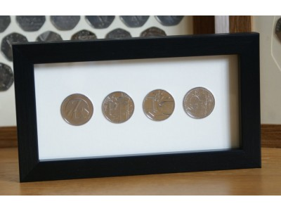 Long 10p Coin Frames