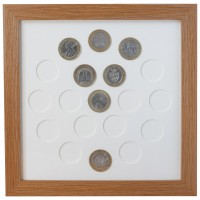 19 UK £2 Coin Frame
