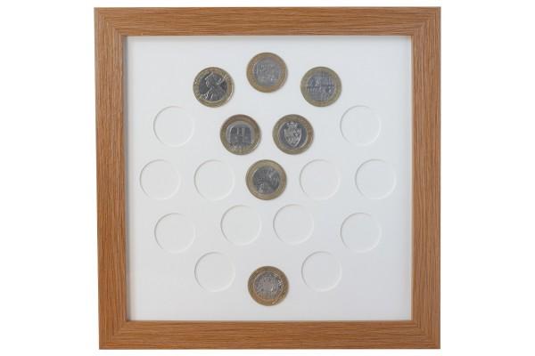 19 UK £2 Coin Frame