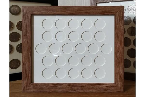 26 UK 10p Coin Frame