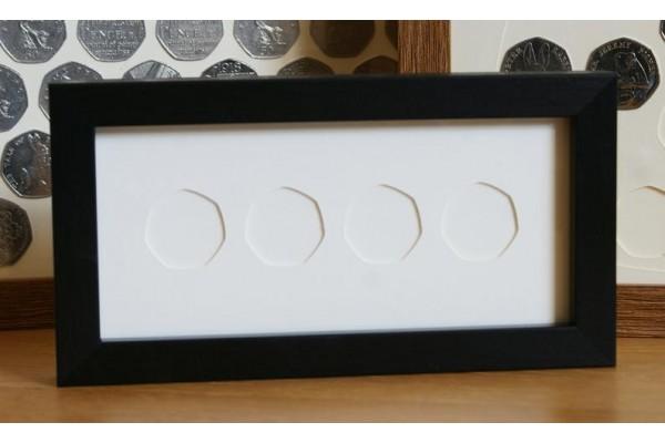 Long 50p Coin Frames