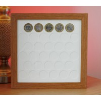 33 UK £2 Coin Frame