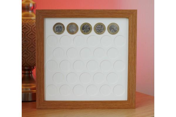 33 UK £2 Coin Frame