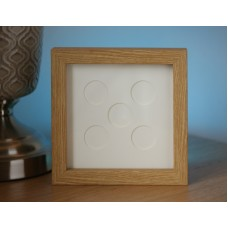 UK £2 Five Coin Display Frame - Square