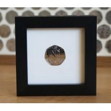 Single 50p Coin Frame