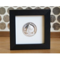Single Crown Coin Frame