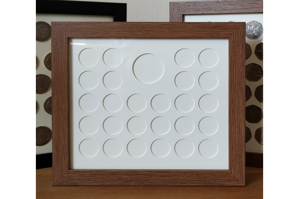 Special 10p Coin Frame - with Medal
