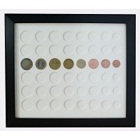 Euros Coin Display Frame