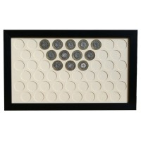 51 UK £2 Coin Frame